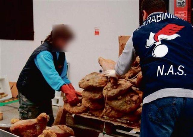 Sicurezza alimentare: sequestrati 250 chili di cibo a Vulcano