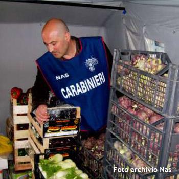Sicurezza alimentare, 2.000 chili di prodotti sequestrati a Rosolini