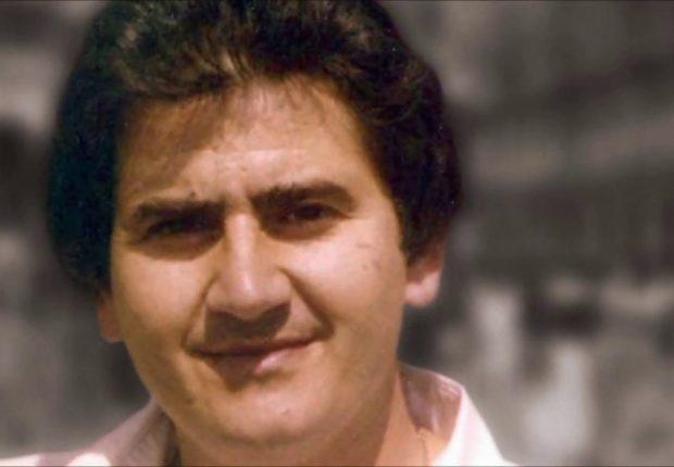 Commemorazione a Palermo di Natale Mondo ucciso dalla mafia nell'88