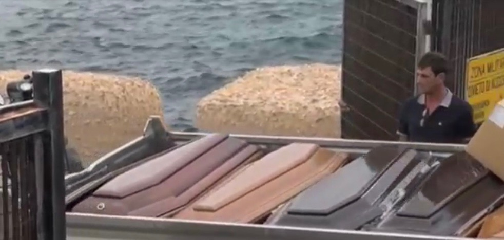 Naufragio di Lampedusa, trasferite le ultime salme