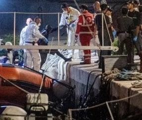 Strage di migranti a Lampedusa, 4 morti accertati e una ventina di dispersi