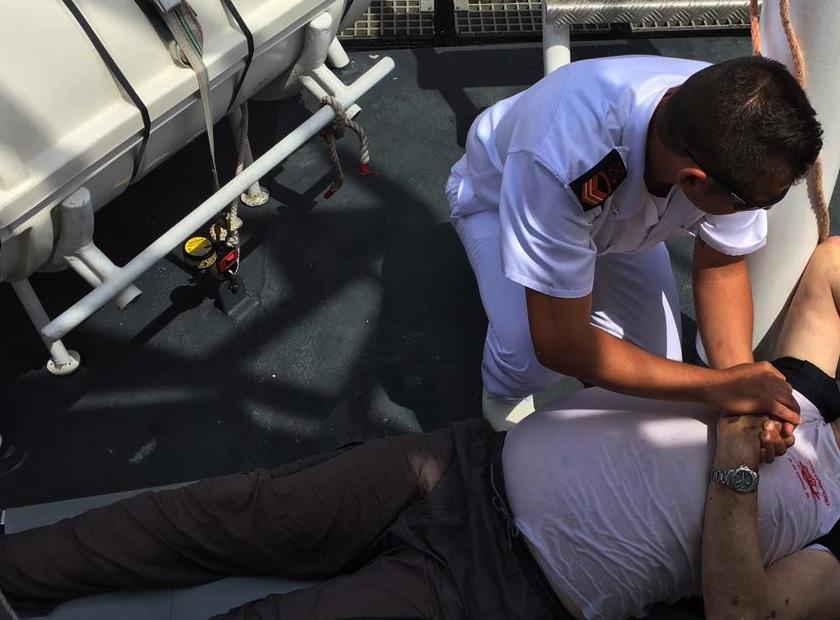 Siracusa, il tender affonda: salvati 2 diportisti a Magnisi