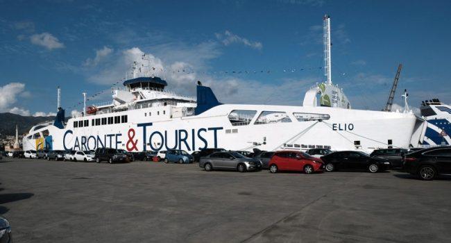 Cima di una nave si spezza e uccide un marinaio della 'Caronte' a Messina