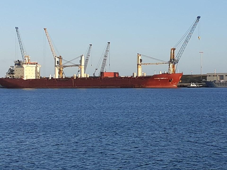 Pozzallo, nave carica di grano estero al porto: protesta dei Cinque Stelle