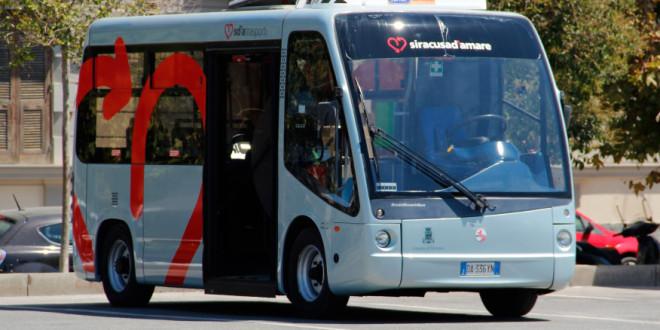 Trasporti,  disposti i nuovi percorsi dei bus elettrici di Siracusa