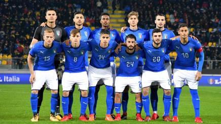 La nazionale Under 21 a Catania: giocherà in amichevole con la Moldavia