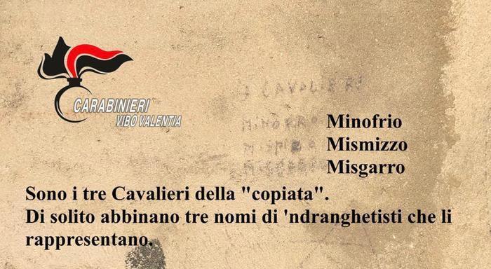 Piscopio di Vibo Valentia, scoperto rito di affiliazione alla 'ndrangheta