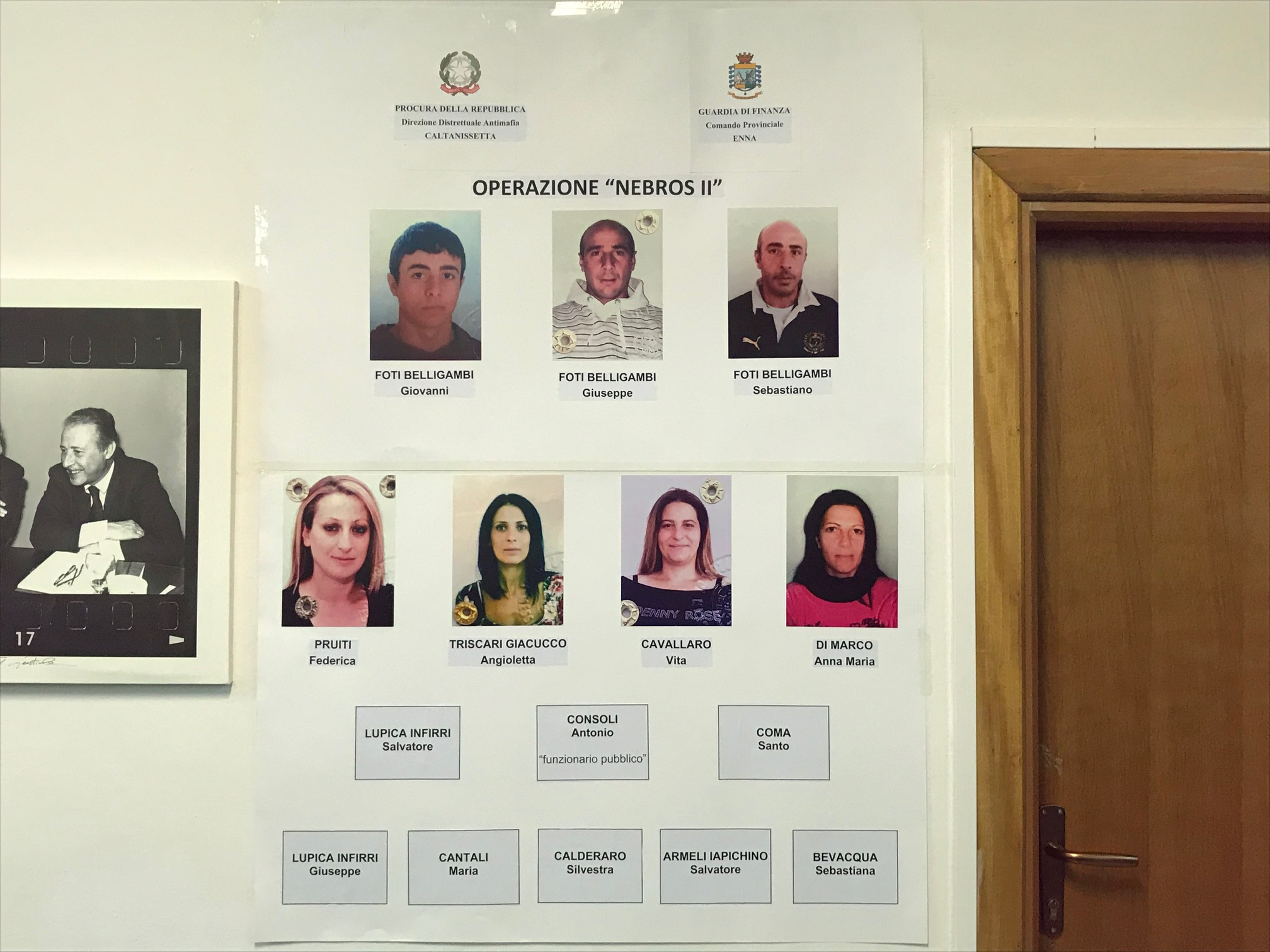 Operazione Nebrus a Caltanissetta, per 7 l'aggravante mafiosa