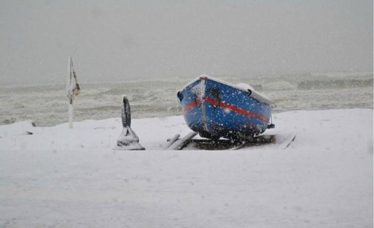 Nuova allarme maltempo al Centro Sud: neve e gelo