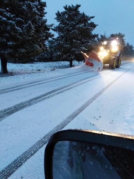 Neve anche nel Foggiano sul Gargano e sul Subappennino Dauno