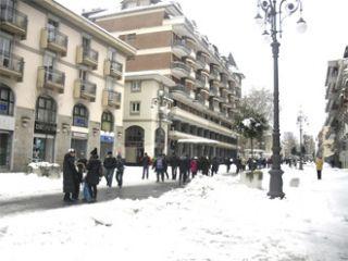 Maltempo, neve in Irpinia: disagi e domani scuole chiuse