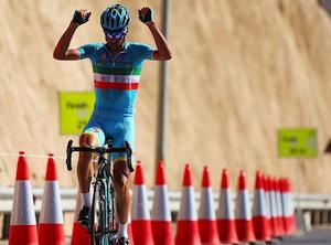 Prima vittoria del 2016 per il campione Messinese Nibali: vince il Tour dell'Oman