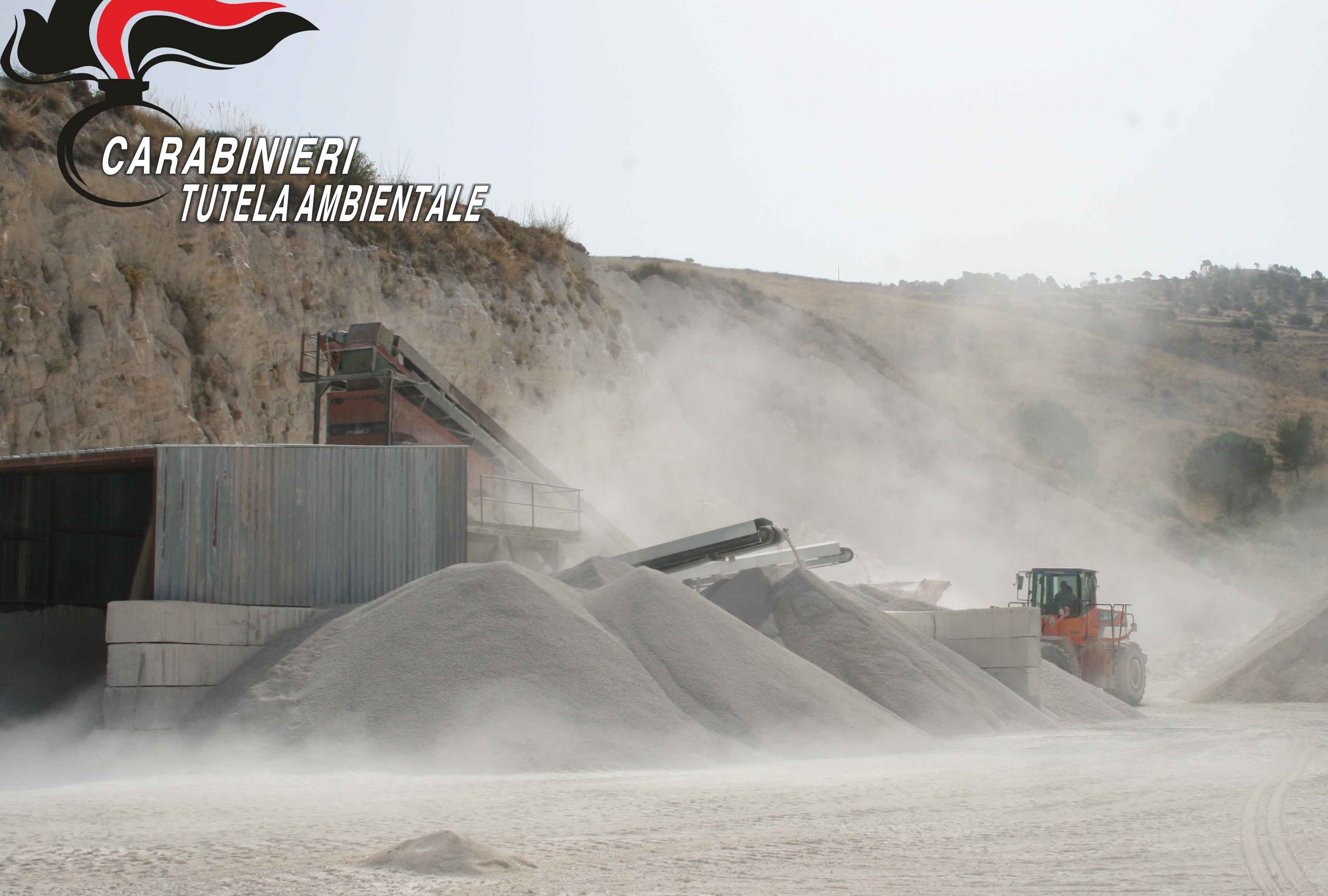 Chiaramonte Gulfi, sequestrata una cava di calcarenite