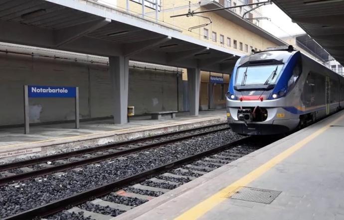 Palermo, traffico Fs sospeso tra Notarbartolo e Punta Raisi