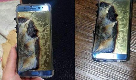 Samsung blocca vendite Note 7 dopo esplosioni batterie