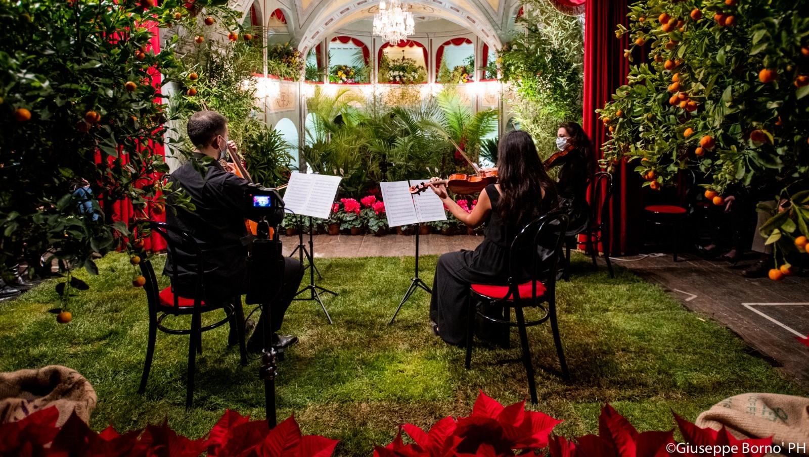 Ragusa, al Teatro Donnafugata il concerto di Natale dedicato al mondo vegetale