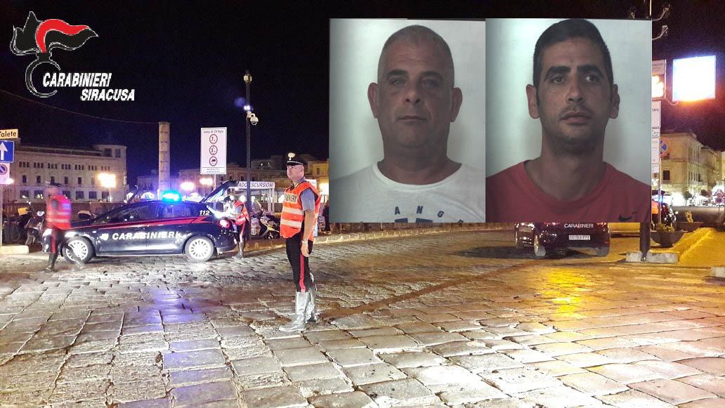 Siracusa, bloccati ubriachi in viale Paolo Orsi: arrestati e poi liberati