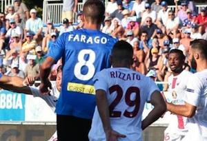 Trapani, terribile paura al debutto: a Novara il 2 a 2 arriva in pieno recupero