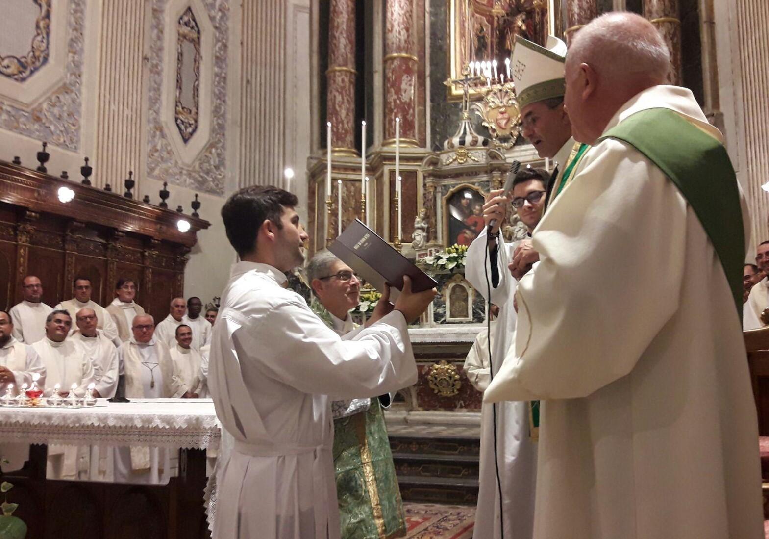 Vittoria, don Converso nuovo arciprete della Basilica di S.Giovanni