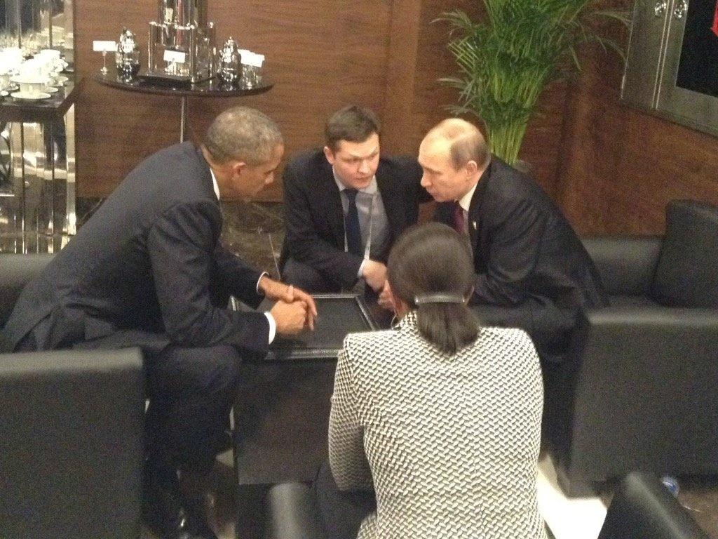Obama e Putin: trovare soluzioni al conflitto in Siria
