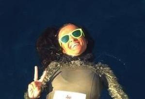 Ustica, Chiara Obino vince la sfida con gli abissi: scende fino a - 82 metri