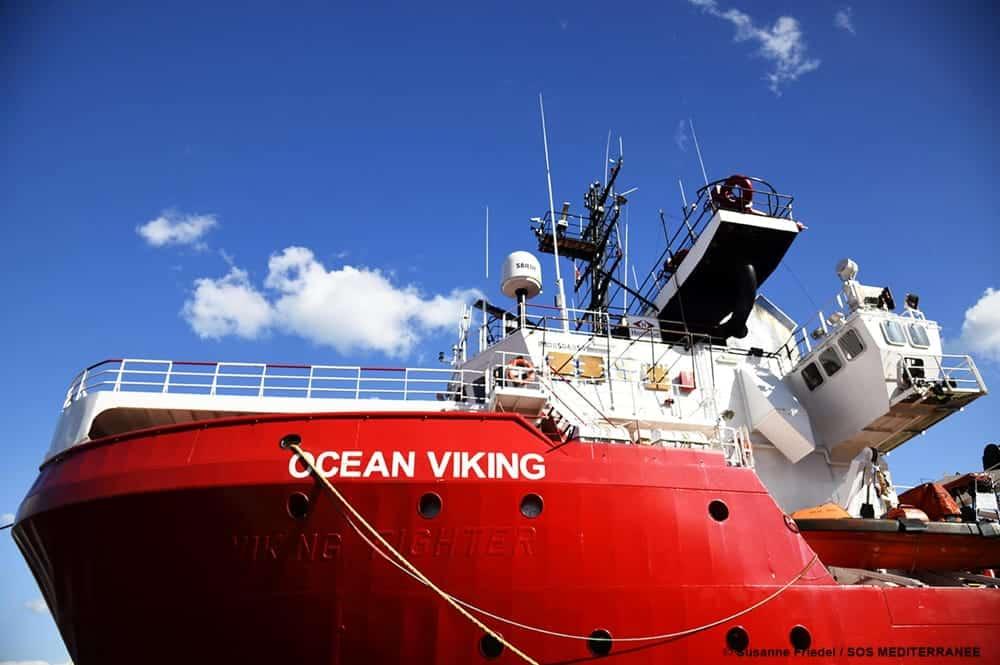 Porto Empedocle, fermo amministrativo della Ocean Viking della ong