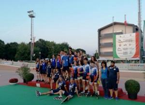 Pattinatori Olimpiade Siracusa, pieno di medaglie a Scaltenigo