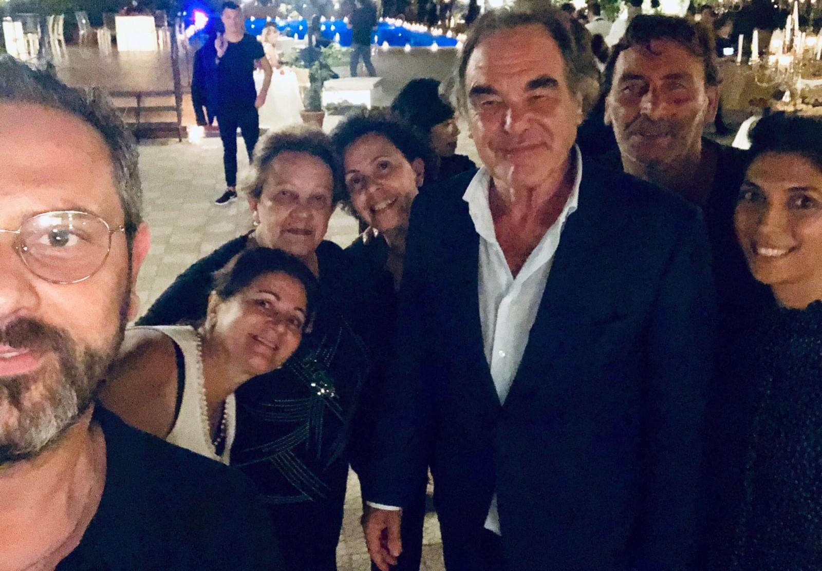 Il party di Oliver Stone a Taormina: gli allestimenti curati dal comisano Luca Melilli