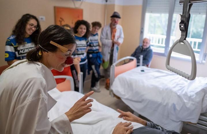 Ragusa, i clown dottori al reparto oncologico dell'ospedale Paternò Arezzo