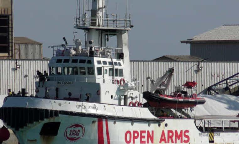 Porto Empedocle, Open Arms resta sotto sequestro amministrativo