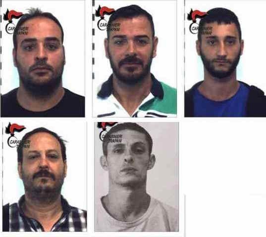 Droga: maxiserra di marijuana in provincia di Trapani, 5 arresti