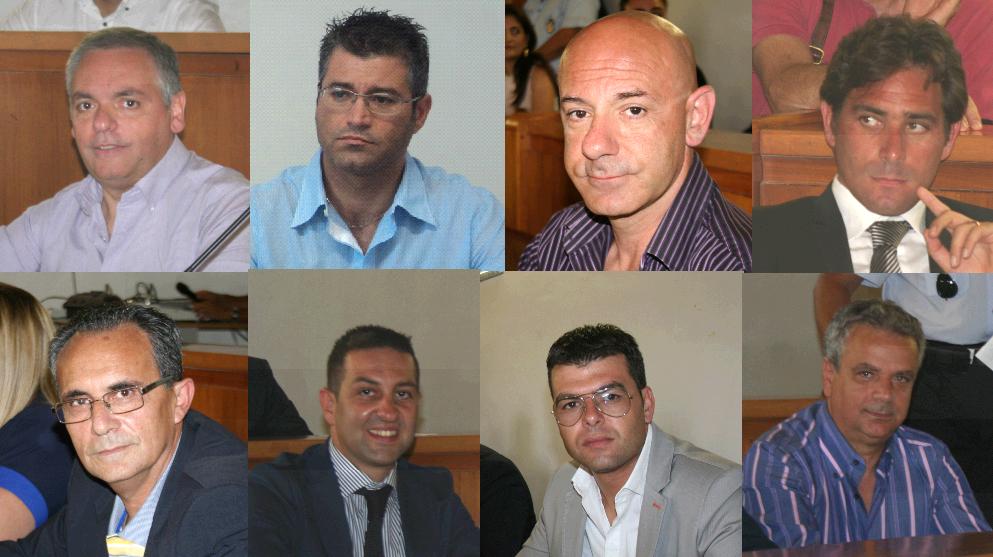 Gli otto oppositori di Rosolini: governo cittadino come una monarchia