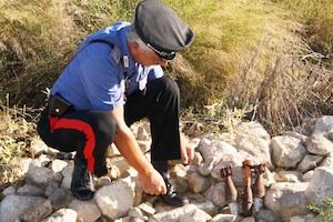 Fatti brillare gli ordigni bellici trovati durante i lavori di scavi a Chiaramonte Gulfi