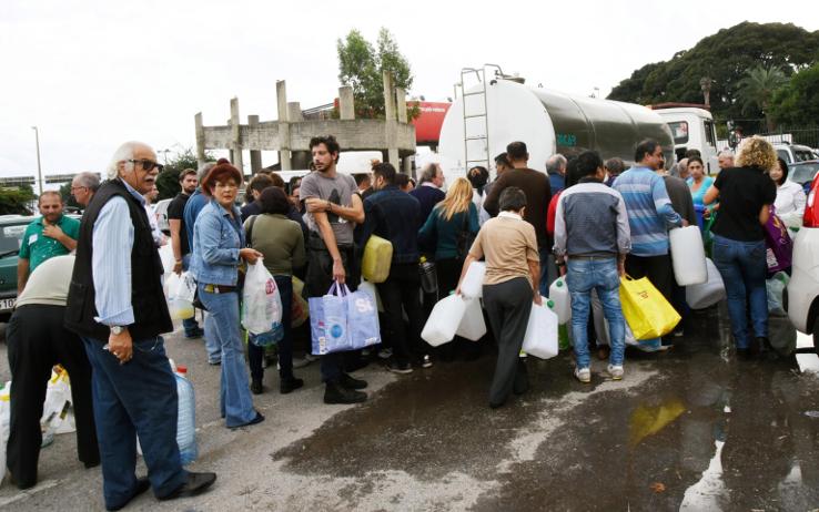 Messina, acqua con il contagocce ma soltanto in alcuni quartieri