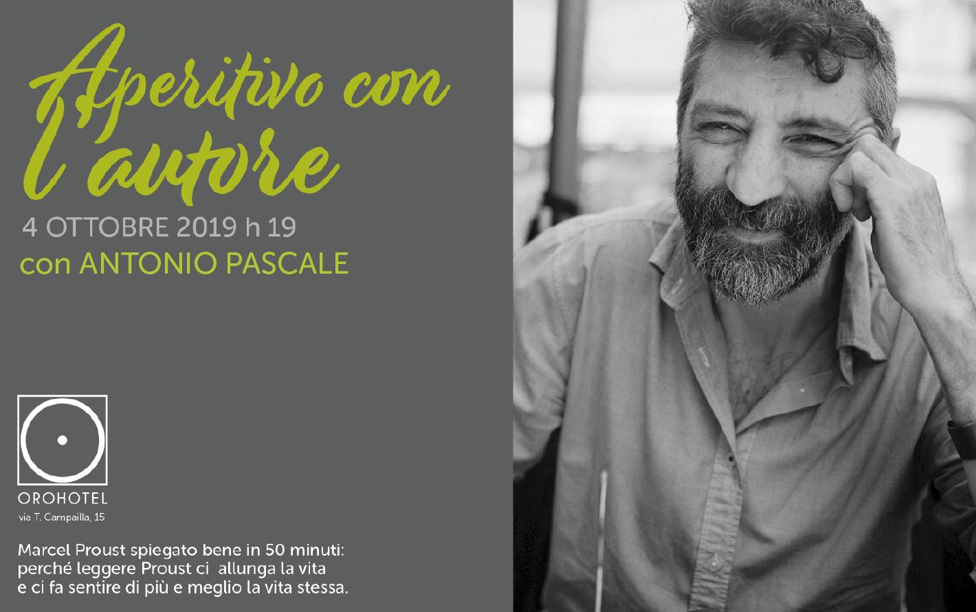 """Modica, da """"Oro Hotel"""" Antonio Pascale spiega Marcel Proust"""