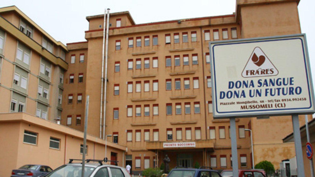 Ospedale di Mussomeli, sei operatori sanitari positivi ai tamponi del covid-19