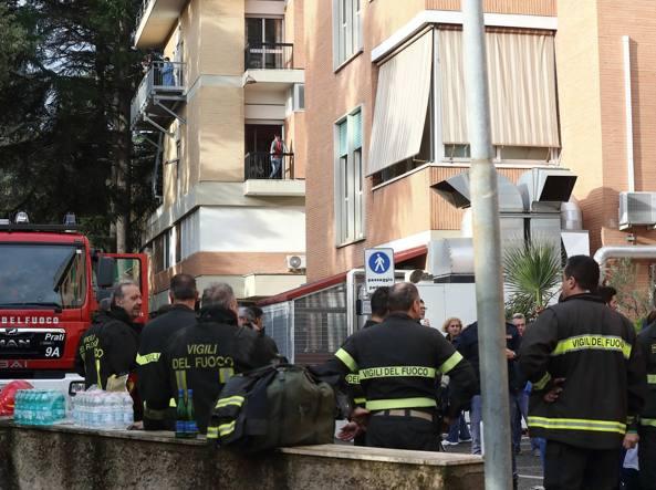 Incendio all'ospedale Villa San Pietro di Roma, pazienti trasferiti