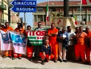 Pachino, comunali senza stipendi da due mesi: lunedì lavoratori in assemblea