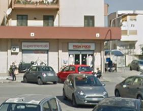 Rapinato a Palermo il supermercato 'Paghi poco' di via Amedeo Aosta