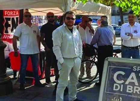 Sabato a Catania, gazebo informativo di Forza Nuova e tesseramento