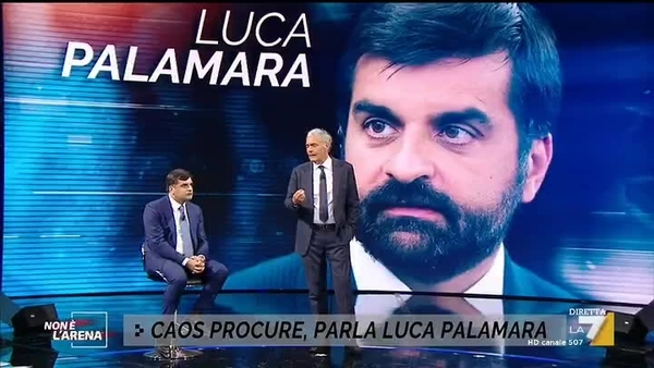 "Palamara in tv: ""I colleghi del Csm volevano tutelare i magistrati di Agrigento"""