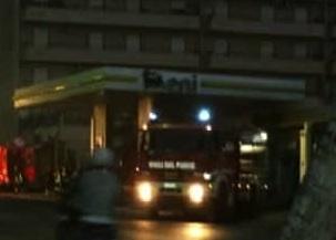 Palermo, scoppia un incendio vicino ad una stazione di carburanti