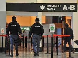 Romeno arrestato al suo arrivo all'aeroporto di Palermo