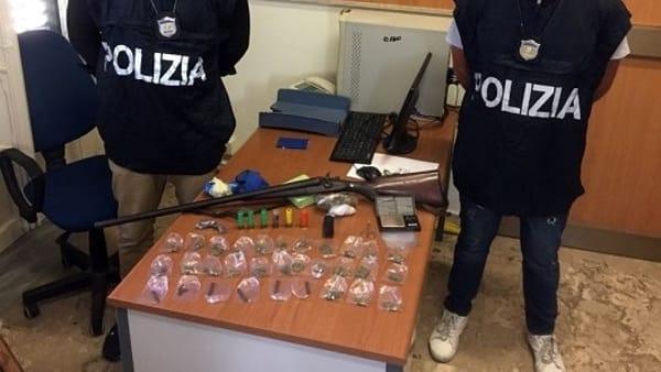 Ambulante arrestato a Palermo per spaccio e furto aggravato