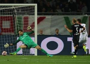 Prima vittoria del Palermo in campionato, Nestorovski punisce l'Atalanta