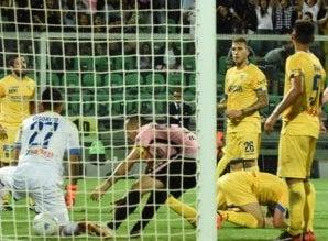Palermo in rimonta vince la prima sfida contro il Frosinone per la promozione in A