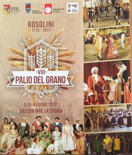 Rosolini, VIII Edizione del Palio del Grano: ufficializzato il tabellone