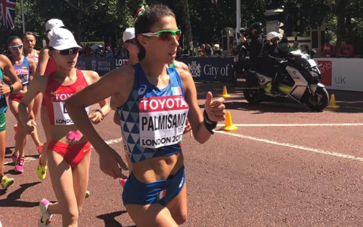 Mondiali di Atletica, medaglia di bronzo per la tarantina Palmisano nella marcia