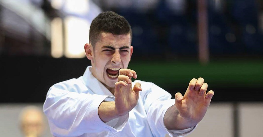 Karate,  bronzo per Giuseppe Panagia agli Internazionali di Lignano
