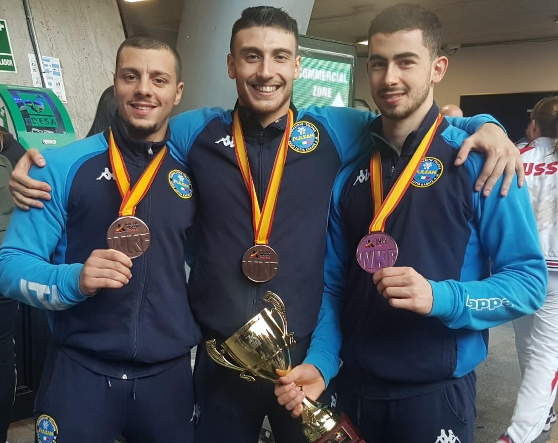 Karate, il vittoriese Giuseppe Panagia bronzo ai Mondiali di Madrid